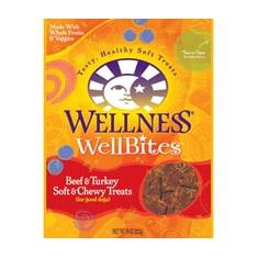 Wellness WellBites Beef and Turkey