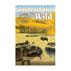 Taste of the Wild High Prairie Canine Roasted Bison and Venison