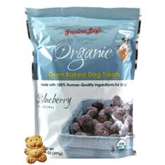 Grandma Lucys Organic Blueberry Dog Treats