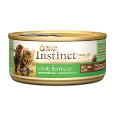 Natures Variety Instinct Lamb Formula Canned Cat Food