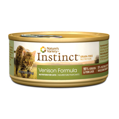 Natures Variety Instinct Venison Formula Canned Cat Food