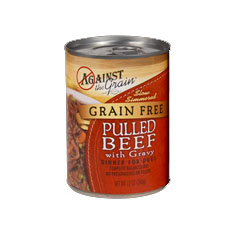 Evangers Against the Grain Pulled Beef Canned Dog Food