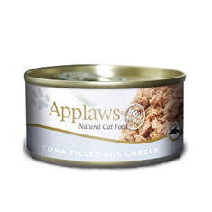 APPLAWS Tuna Fillet with Cheese Cat Cans