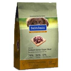 Back to Basics Grain Free Pork Formula Dry Dog Food