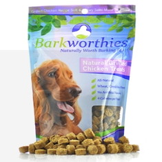 Barkworthies Natural Grilled Chicken Treats