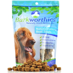 Barkworthies Natural Hickory Beef Treats