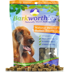 Barkworthies Natural Peanut Butter Treats