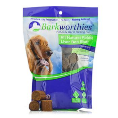 Barkworthies Natural Rabbit Bon Bons