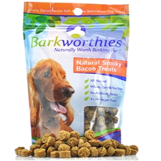 Barkworthies Natural Smoky Bacon Treats