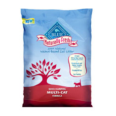 Blue Buffalo Naturally Fresh Multi Cat Clumping Cat Litter
