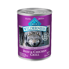Blue Buffalo Wilderness Beef and Chicken Grill Cans