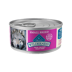 Blue Buffalo Wilderness Small Breed Turkey and Chicken Grill Cans