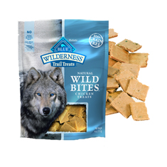 Blue Buffalo Wilderness Trail Treats Chicken Wild Bites