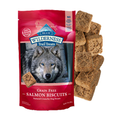 Blue Buffalo Wilderness Trail Treats Salmon Biscuits