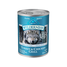 Blue Buffalo Wilderness Turkey and Chicken Grill Cans
