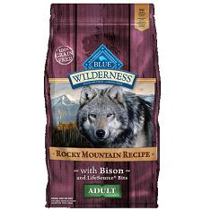 BLUE Wilderness Rocky Mountain Bison Adult