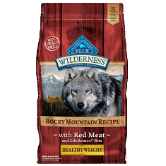 BLUE Wilderness Rocky Mountain Healthy Weight Red Meat Adult