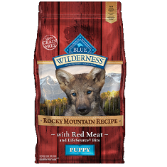 BLUE Wilderness Rocky Mountain Recipe Red Meat Puppies
