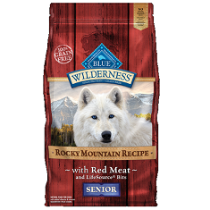BLUE Wilderness Rocky Mountain Recipe Red Meat Senior
