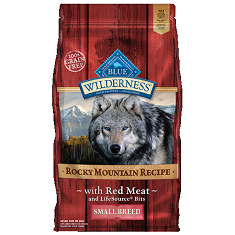 BLUE Wilderness Rocky Mountain Red Meat Small Breed Adult