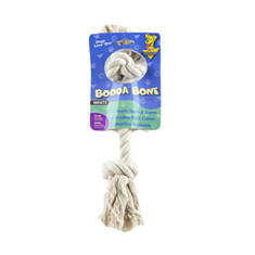 Booda Bone Two Knot Rope Toy