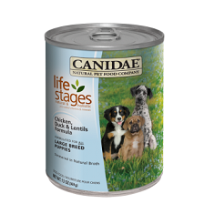 Canidae Life Stages Large Breed Puppy Chicken Duck Lentils