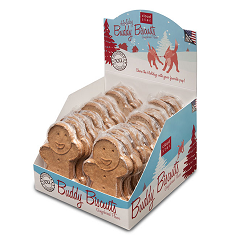 Cloudstar Holiday Buddy Biscuits Gingerbread Flavor