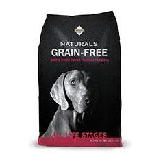 Diamond Naturals Grain Free Beef and Sweet Potato Dry Dog Food