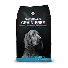Diamond Naturals Grain Free Whitefish and Sweet Potato Dry Dog Food