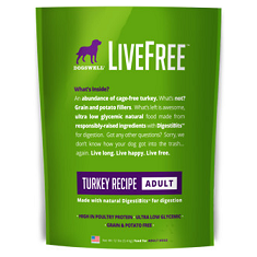 Dogswell LiveFree Turkey Recipe Adult
