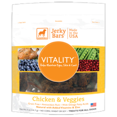 Dogswell Vitality Chicken and Veggies Jerky Bars