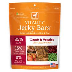 Dogswell Vitality Jerky Bars Lamb and Veggies