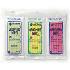 Earthbath Travel Wipes