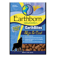 Earthborn Holistic EarthBites Skin and Coat Treats