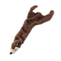 Ethical Products Skinneeez Plush Beaver Toy
