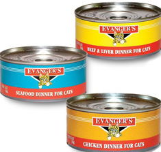 Evangers Gourmet Classic Dinners Cat