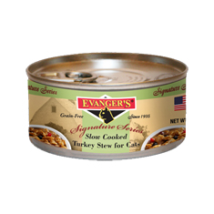 Evangers Signature Series Turkey Stew Cat Cans
