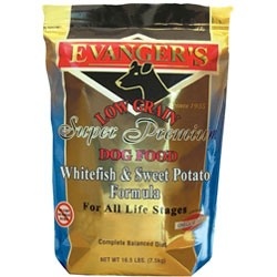 Evangers Whitefish and Sweet Potato Dry Food