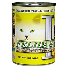 Felidae Chicken and Rice Can
