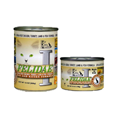 Felidae Grain Free Chicken Turkey Lamb and Fish Cat Cans