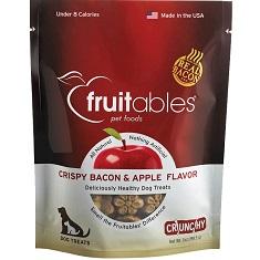 Fruitables Crispy Bacon and Apple Dog Treats