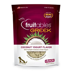 Fruitables Greek Yogurt Coconut Dog Treats