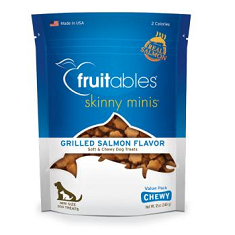 Fruitables Skinny Minis Grilled Salmon Dog Treats