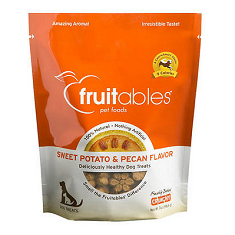 Fruitables Sweet Potato and Pecan Dog Treats