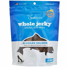 Fruitables Whole Jerky Dog Treats Alaskan Salmon