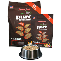 Grandma Lucys Pureformance Rabbit Grain Free Dog Food