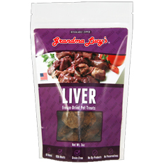 Grandma Lucys Singles Freeze Dried Liver Treats
