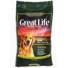 Great Life Grain Free Chicken Dog Food
