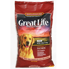 Great Life Grain Free Wild Salmon Dog Food
