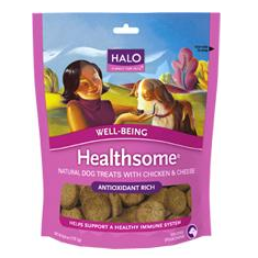 Halo Healthsome Well Being Chicken and Cheese Treats
